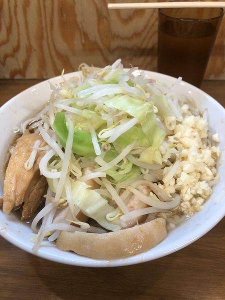「小豚ラーメン(にんにく)¥800」@ラーメン二郎 前橋千代田町店の写真
