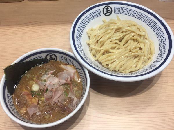 「つけ麺900円」@中華そば つけめん 玉 新宿店の写真