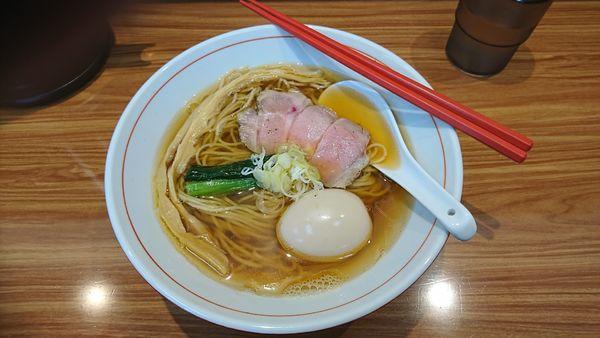 「白だし醤油ら~麺」@ら~麺 安至の写真