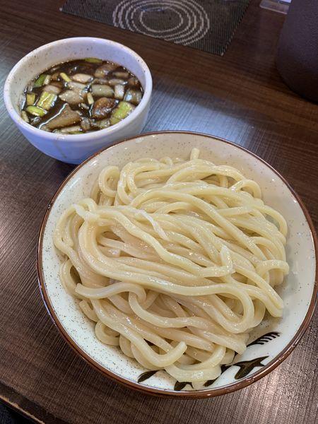 「【数量限定】魚介豚骨つけ麺」@自家製麺 じゃじゃ。の写真
