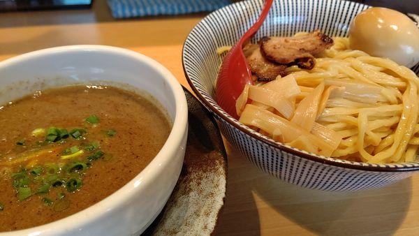 「濃厚魚介つけ麺」@塩つけ麺 灯花の写真