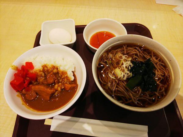 「朝そばカレー」@東京シェフズキッチン 中華食堂の写真