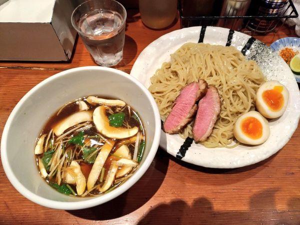 「水曜日特別営業限定 松茸と鴨のつけ蕎麦」@麺処 ほん田の写真
