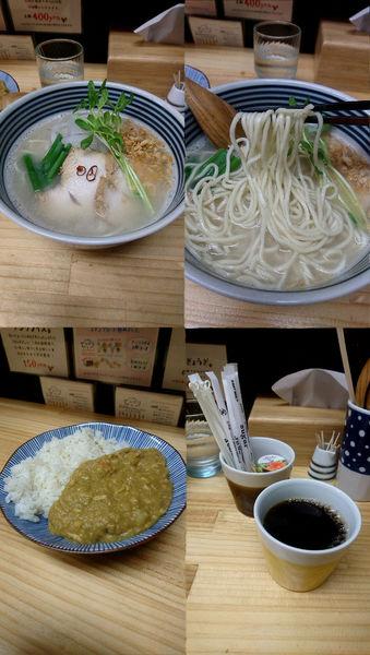 「『鯖そば+おうちカレー(¥1010)』」@らーめん どんぐりの写真
