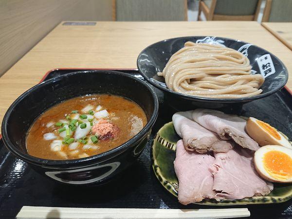 「甘エビ特製全部入りつけ麺」@松戸富田麺桜の写真