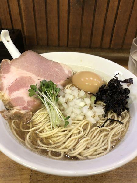 「煮干し醤油そば」@へべれ家の写真
