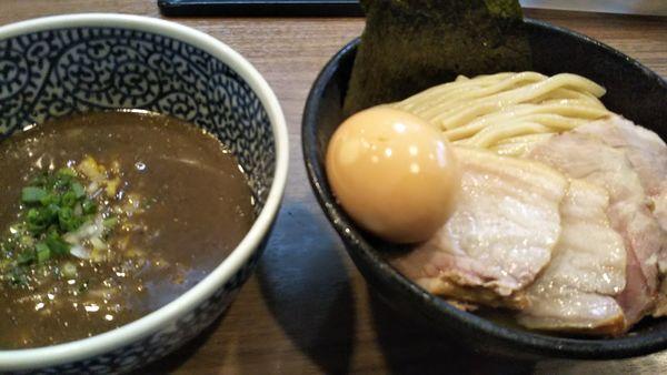 「特製極濃煮干しつけ麺+中盛」@煮干しつけ麺 宮元の写真