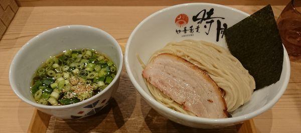 「ホロホロ南蛮雉つけ麺」@中華蕎麦 時雨の写真
