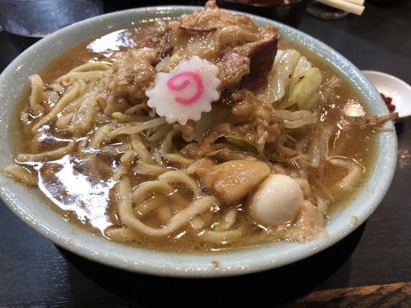 「ラーメン(¥850) ちょいアブラ(¥0)」@自家製麺 No11の写真