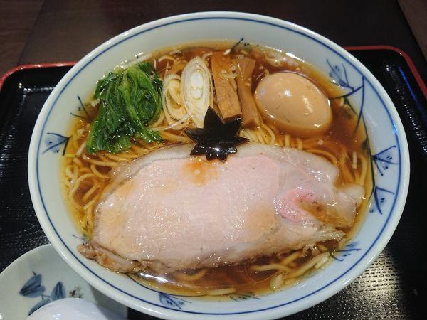 「味玉中華そば 900円」@食煅 もみじの写真