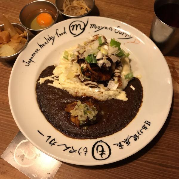 「肉肉 味噌豚カルビ&チキンカレー」@もうやんカレーしんばし 新橋店の写真