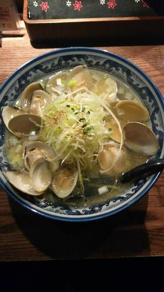 「はまぐりラーメン」@和風楽麺 四代目 ひのでやの写真