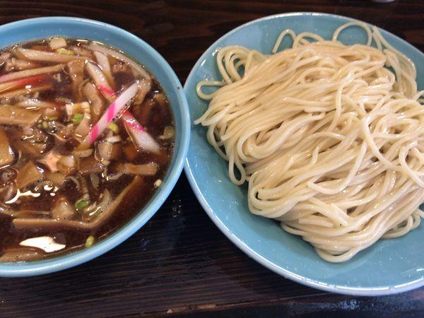 「つけそば並700円(+餃子とか)」@つけそば 麺吉の写真