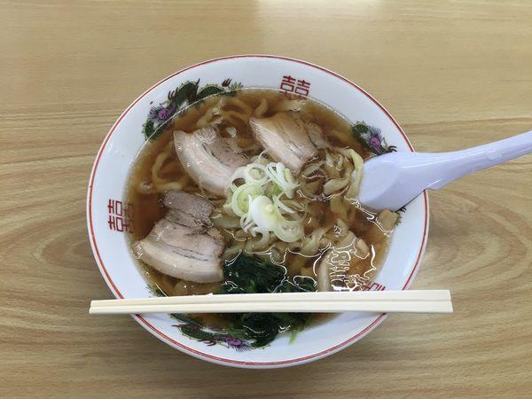 「手打ちラーメン ¥750」@古川農園の写真
