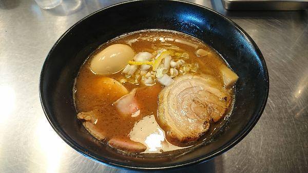 「特製濃厚鰹らぁめん」@Bonito Soup Noodle RAIKの写真