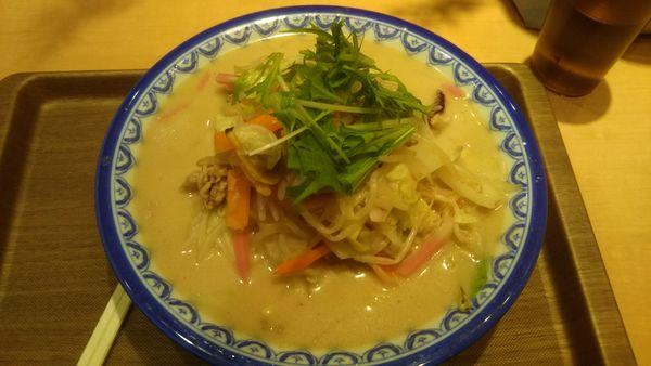 「野菜チャンポン 820円」@東北自動車道那須高原サービスエリア(下り)フードコートの写真