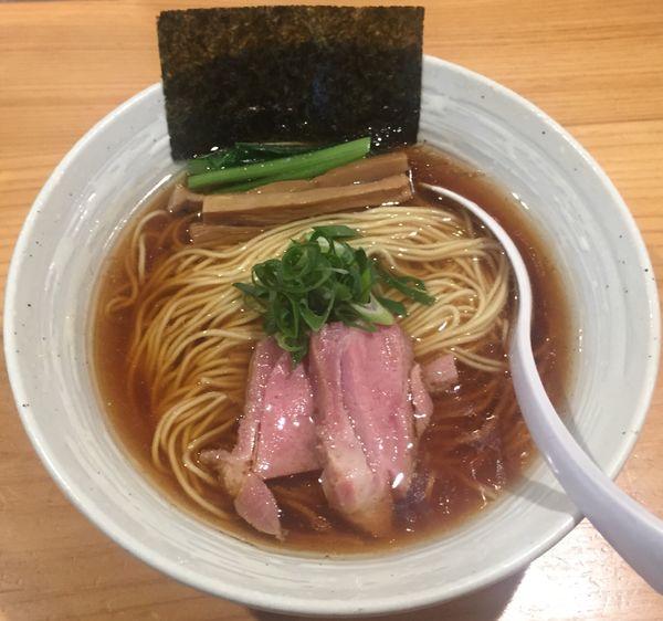 「らぁ麺(醤油)850円他」@麺屋 さくら井の写真