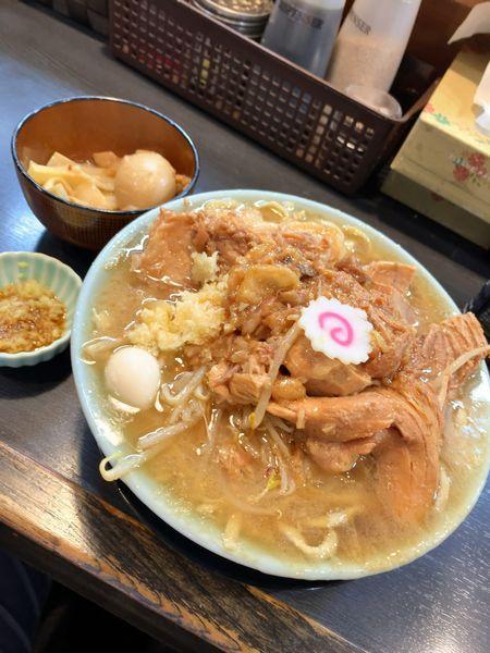 「豚増しラーメン」@自家製麺 No11の写真