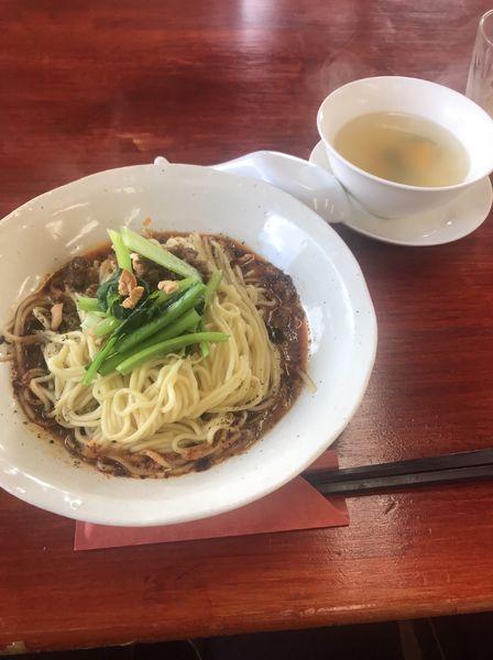 「山椒の香り・汁無しタンタンメン(成都担担面)」@川菜餐室 風の都の写真