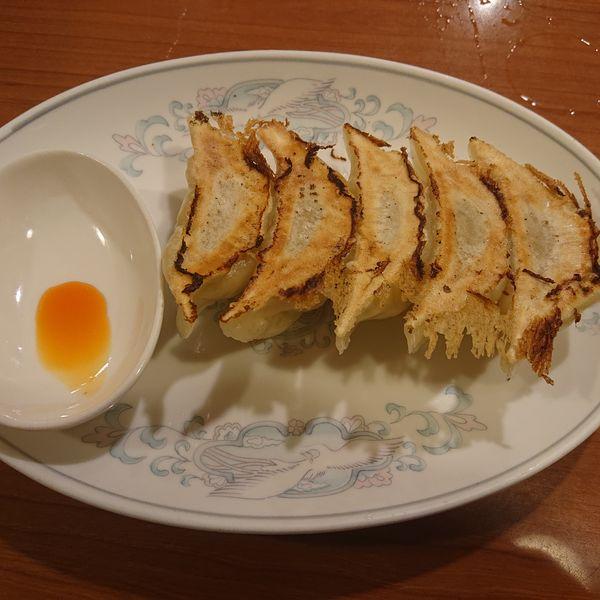 「ニンニク鶏チャーシュー850円,ライス小100円,餃子400」@来来  RAI-RAIの写真
