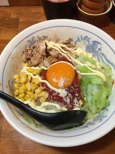 「トマト塩油そば」@ラーメン大 荻窪店の写真