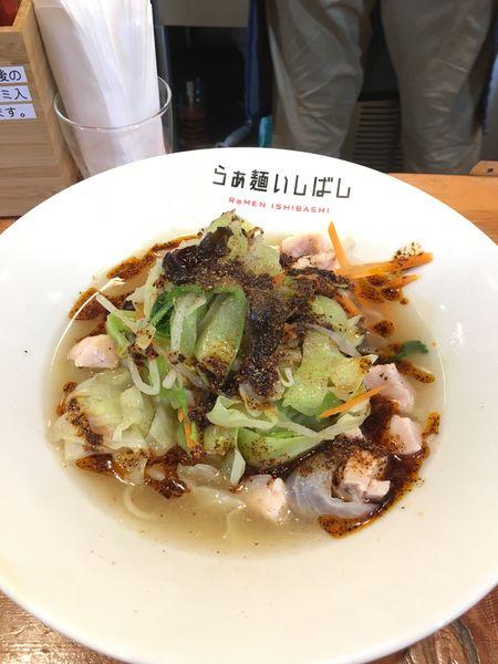「麻辣冷し野菜タンメン」@らぁ麺 いしばしの写真