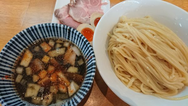 「特製つけそば大盛1200円」@麺食堂 88の写真
