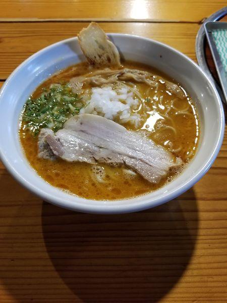 「鶏そば 醤油 大盛」@はりけんラーメン 南店の写真