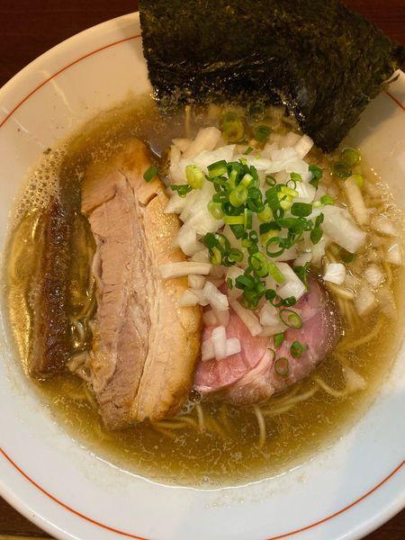 「煮干し蕎麦(醤油)」@零一弐三の写真