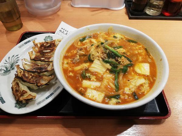日 高屋 チゲ 味噌 ラーメン 2019